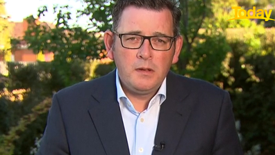 Daniel Andrews took a pause before answering the personal  question.