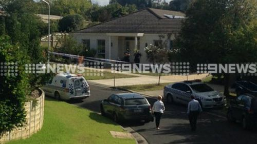 Police at the Highton home. (9NEWS)