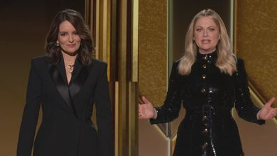 Tina Fey and Amy Poehler host the 78th Golden Globe Awards