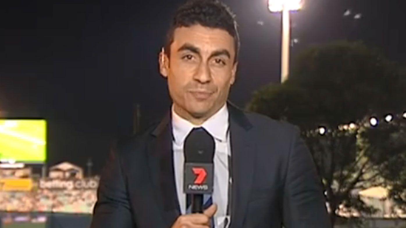 Seven reporter Josh Massoud threatened to 'slit' colleague's throat