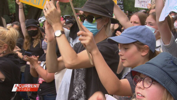 Why an Aussie mum took her daughters to March 4 Justice protest