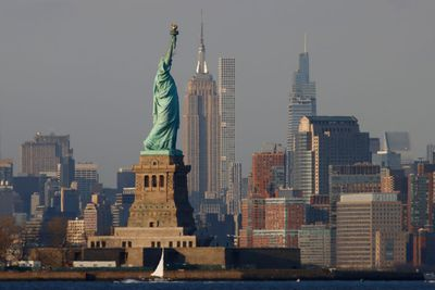 2. Sail around New York's green lady, the Statue of Liberty
