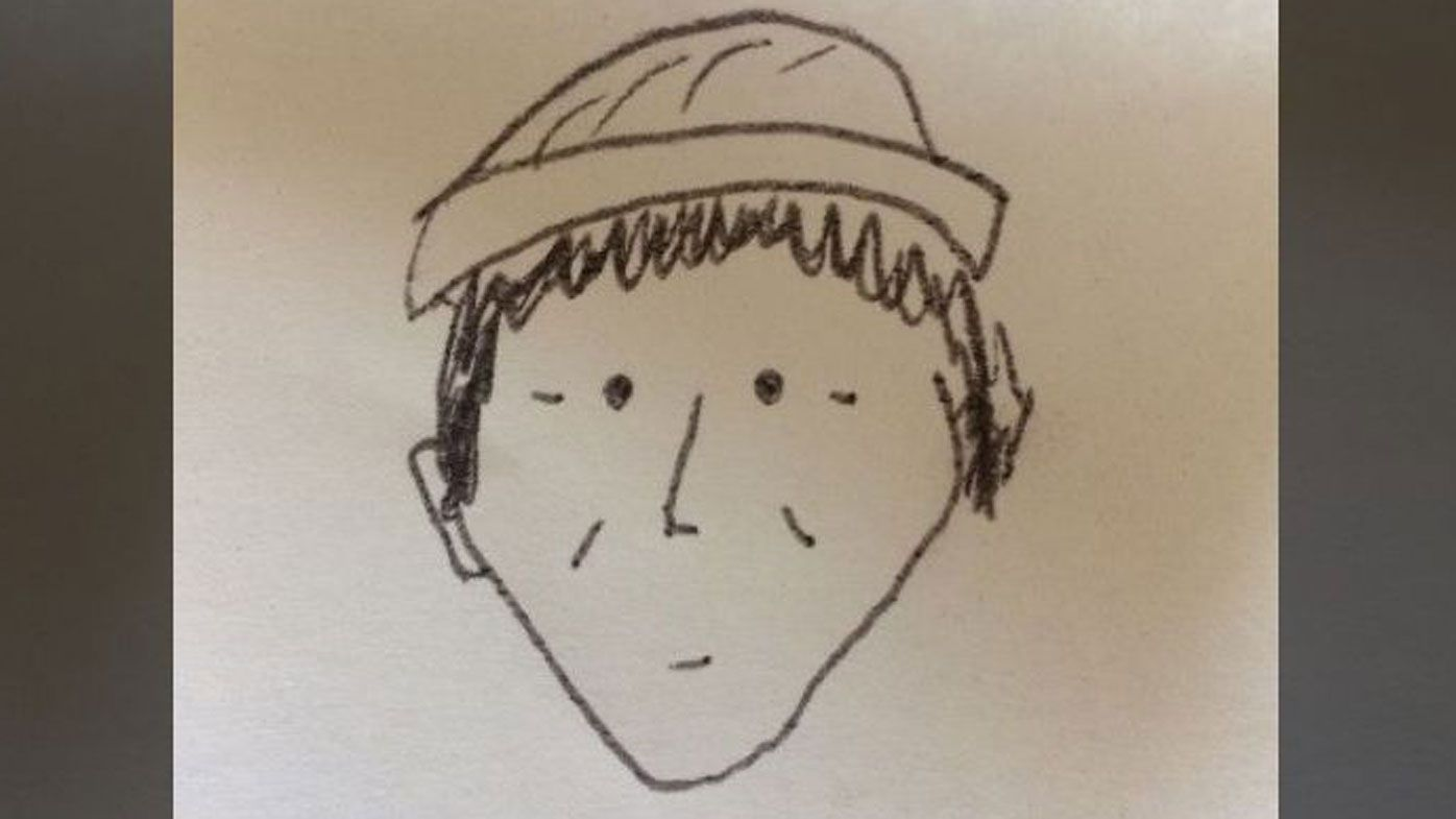 World's worst police sketch actually looks like the suspect