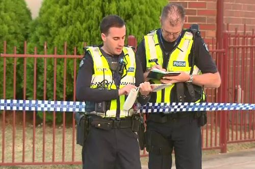 Detectives have spent the day combing the property. (9NEWS)