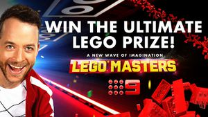 Win the ultimate LEGO prize!