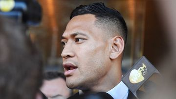 Israel Folau has deactivated his Instagram and Twitter accounts.