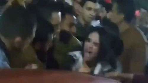 Charges have been laid over an alleged mob sex attack in Egypt.