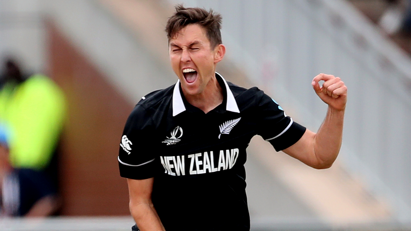 New Zealand seamers spark India top order collapse in World Cup semi final
