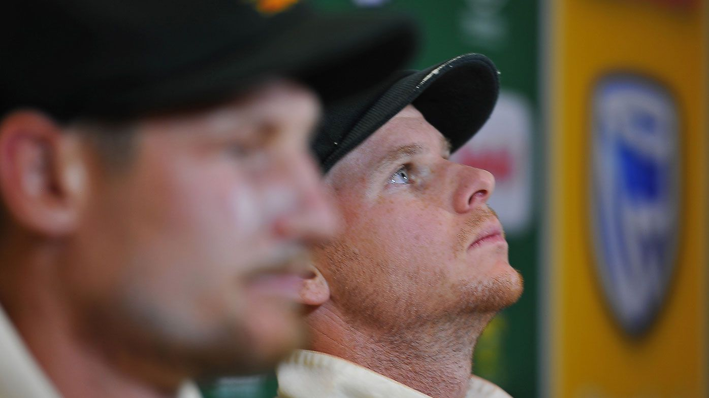 Australian cricket captain Steve Smith and Cameron Bancroft are 'struggling' over cheating scandal, says Tim Paine