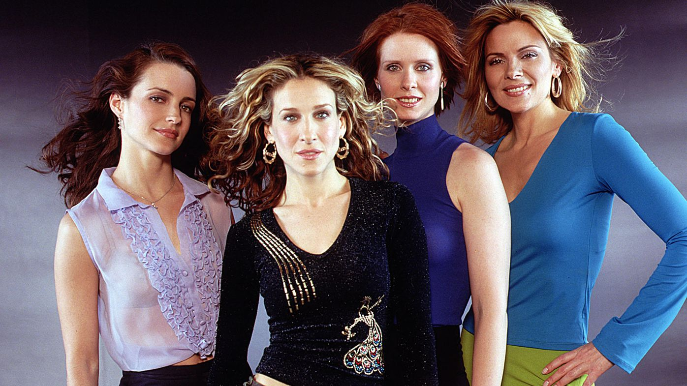 From left Kristin Davis Sarah Jessica Parker Cynthia Nixon and Kim Cattrall on Sex and the City Image HBO