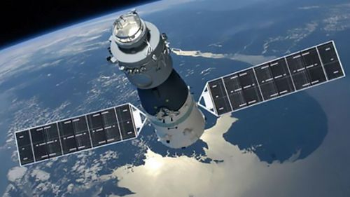 The Tiangong-1 space station has been out of control since 2016.