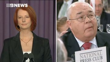 2010: Laurie ambushes Julia Gillard about Rudd takedown