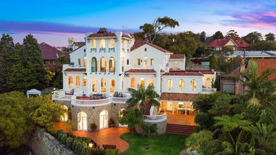 An opulent Moorish mansion in Sydney just hit the market