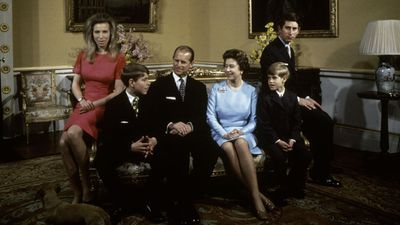 The Queen, Prince Philip and family