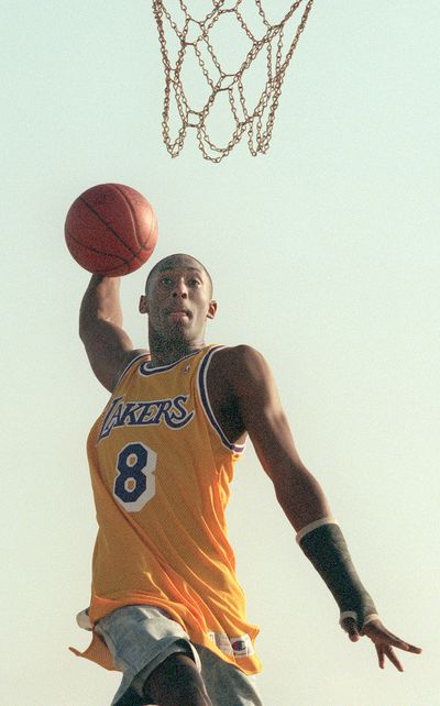 1996: Guard for the Los Angeles Lakers