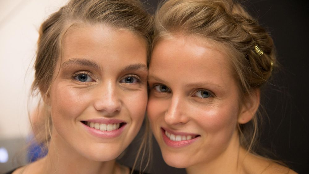 Make-up that actually looks better when you sweat