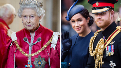 The Queen, Meghan Markle, Prince Harry
