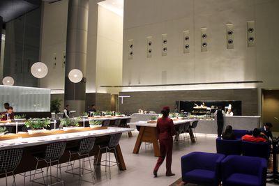 <strong>Doha, Qatar: Qatar Airways Al Mourjan business lounge</strong>