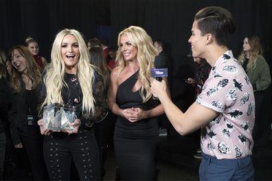 Britney Spears and sister Jamie Lynn.