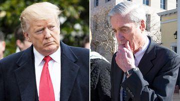 Trump celebrates Mueller findings as Russia gloats