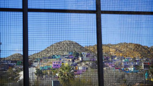 El Paso is separated from Mexico's Juarez by a simple fence.