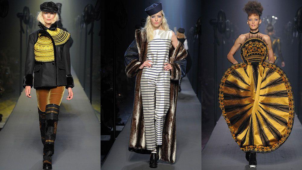Jean Paul Gaultier Haute Couture Fall 2015/16 runway