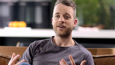 Hamish Blake filmed a hilarious backstory, detailing his dream of becoming a TV host.