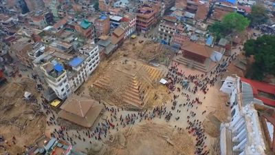 Nepal's earthquake-hit capital was short on everything yesterday as its people searched for lost loved ones, sorted through rubble for their belongings and struggled to provide for their families' needs.