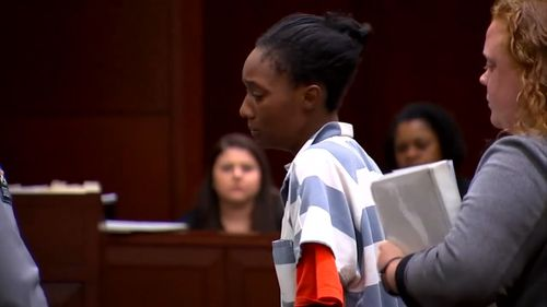 She is facing charges of child abuse, marijuana possession and contributing to the delinquency of a minor. (ABC America)