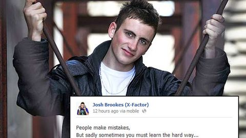 'It got out of control': Behind Josh Brookes' <i>X Factor</i> disqualification