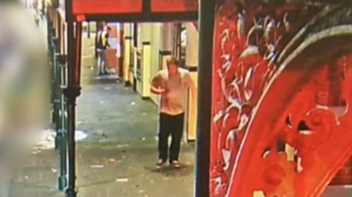Described as being in his 20s, with fair skin and a stocky build - police are urging anyone who recognises this man to call Crime Stoppers.