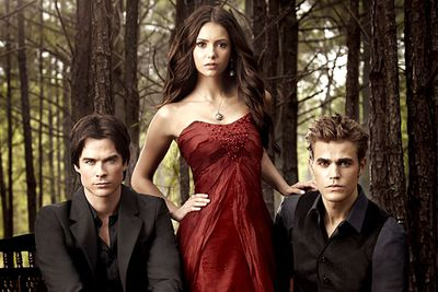 "<B>The skinny:</B> Mystic Falls is a sleepy little town, and like all sleepy little towns on TV it's swarming with vampires, werewolves and witches — none of whom seem to like each other very much.<br/><br/><B>Why we loved it:</B> <I>Vampire Diaries</I> has been dubbed ""<I>Twilight</I> on TV"", which is a pretty cruel label for a TV series that crams more angst, love triangles and over-the-top plot twists into single episodes than Stephenie Meyer got into a four-book series. (Plus, none of the vampires on this show sparkle.)"