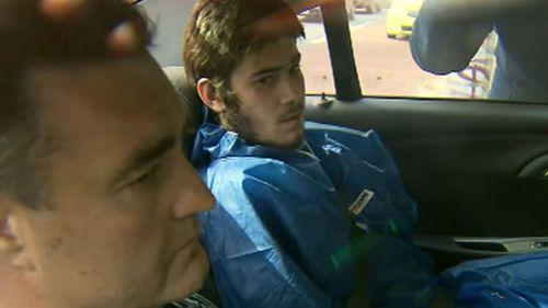 Sevdet Besim following his arrest. (9NEWS)
