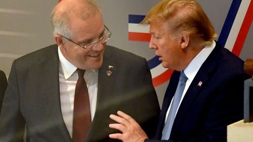 Australia's Morrison at White House for Trump's 2nd state visit