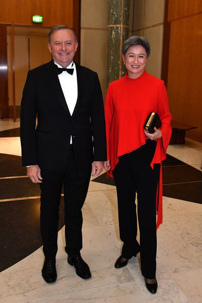 Anthony Albanese and Penny Wong