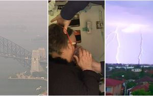 Thunderstorm asthma warning upgraded as smoke congestion continues