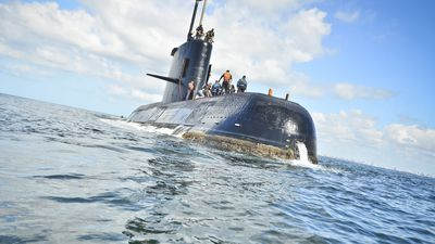 Argentine submarine disappears with 44 crew members