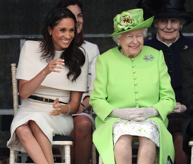 Meghan and Harry's touching tribute to the Queen