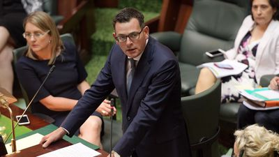 Daniel Andrews emotional during euthanasia bill debate