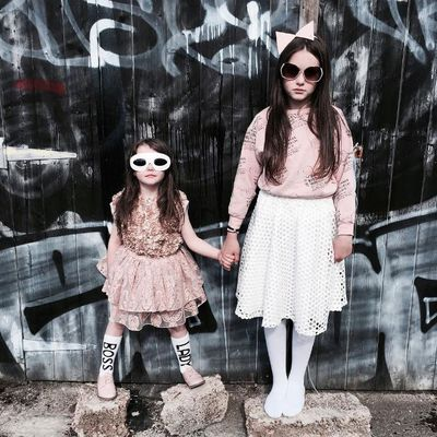 "Birdie and Bear are Irish sisters with a wild sense of fashion. Their mum has four other children and they all star on Insta account <a href=""https://www.instagram.com/dancewithdirtyfeet/"" target=""_blank"">@dancewithdirtyfeet</a>"