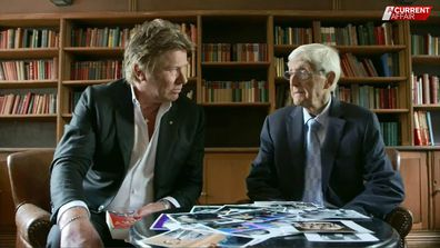 Richard Wilkins, Sir Michael Parkinson, interview, A Current Affair