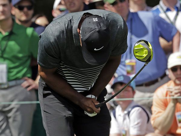 Woods' foul mouth steals the spotlight