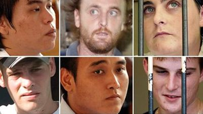 """<p _tmplitem=""""2"""">Nearly a decade after being sentenced to death for drug trafficking, Bali Nine ringleaders Andrew Chan and Myuran Sukumaran were executed by firing squad just after midnight on Wednesday morning.</p><p _tmplitem=""""2"""">  The remaining seven of the group still languish behind bars in Indonesia, with few having hope of being released. </p><p _tmplitem=""""2"""">  Some have turned to religion for comfort, while others, in a cruel twist, have battled drug addiction. </p><p _tmplitem=""""2"""">  Click through to find out how the group have fared in the years since they were caught. </p><p _tmplitem=""""2""""> </p>"""