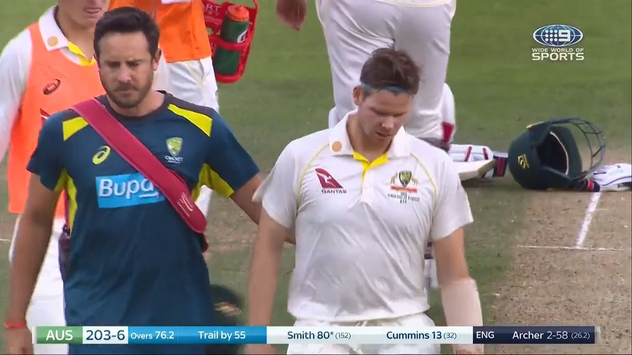 Steve Smith ruled out of Headingley Test after failing to recover from delayed concussion