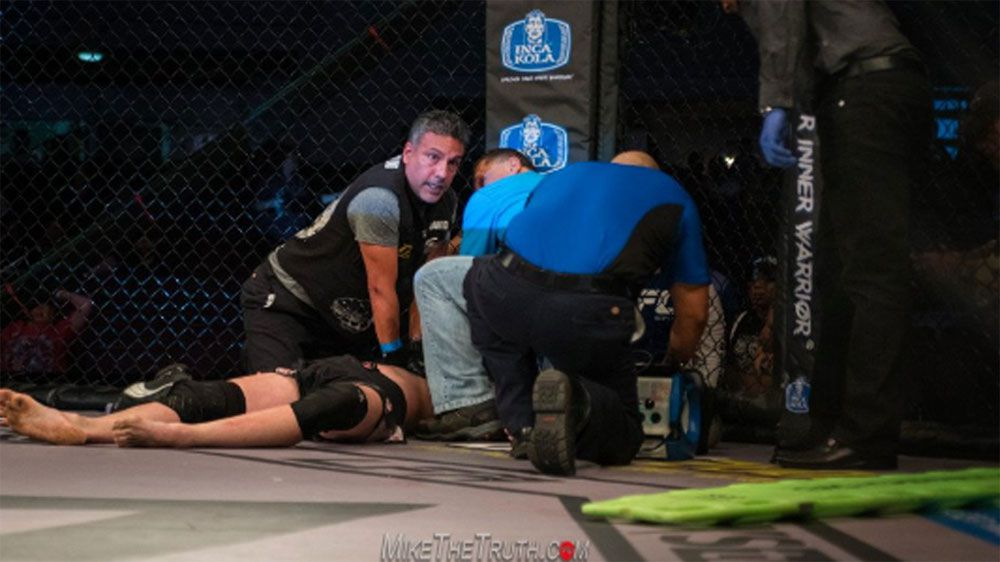 MMA fighter's heart stops in cage has to be revived in Octagon