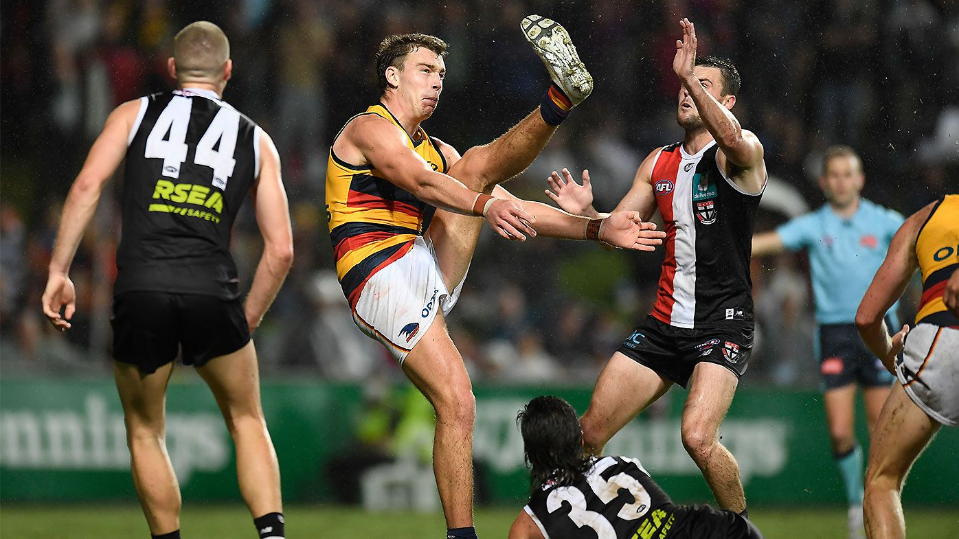 'You cannot do that': Riley Thilthorpe's stunning overhead goal seals remarkable Crows comeback