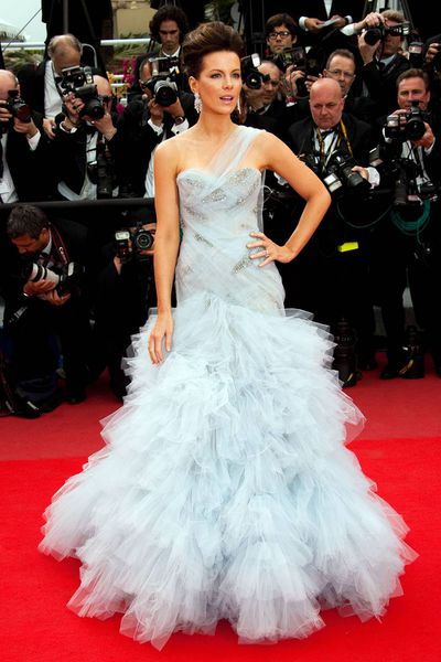Kate Beckinsale in Marchesa at the 2010 Cannes Film Festival