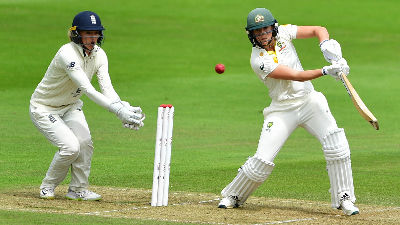 Ellyse Perry eyes second Test hundred as Australia dominates Women's Ashes