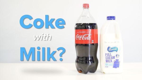 Comedy writer convinces internet that milk coke is popular drink