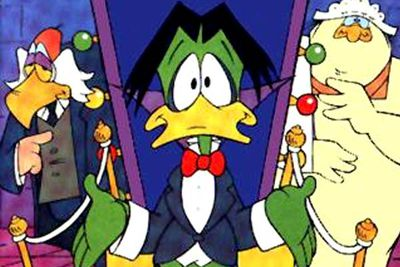 <B>Ran from:</B> 1988 to 1993<br/><br/><br/><B>Why it's awesome:</B> Count Duckula wasn't your average vampire duck — he was a comedic, wacky vegetarian determined to use his powers to seek fame and fortune, though never quite being able to pull it off. Plus, there was Nanny.